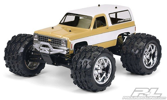 Pro-line #3244-00 | 1980 Chevy Blazera Clear Body for REVO 2.5 & 1:10 Crawler