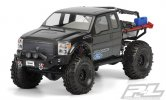Pro-Line #3392-00 | Ford F-250 Super Duty Cab Clear Body for Axial SCX10 Trail Honcho 12.3 (313mm) Wheelbase