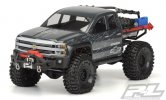 Pro-Line #3439-00 | Chevy Silverado Clear Body for Axial SCX10 Trail Honcho 12.3 (313mm) Wheelbase