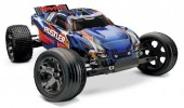 Traxxas (#3707) Rustler VXL RTR w/2.4GhzRadio, Battery and Charger